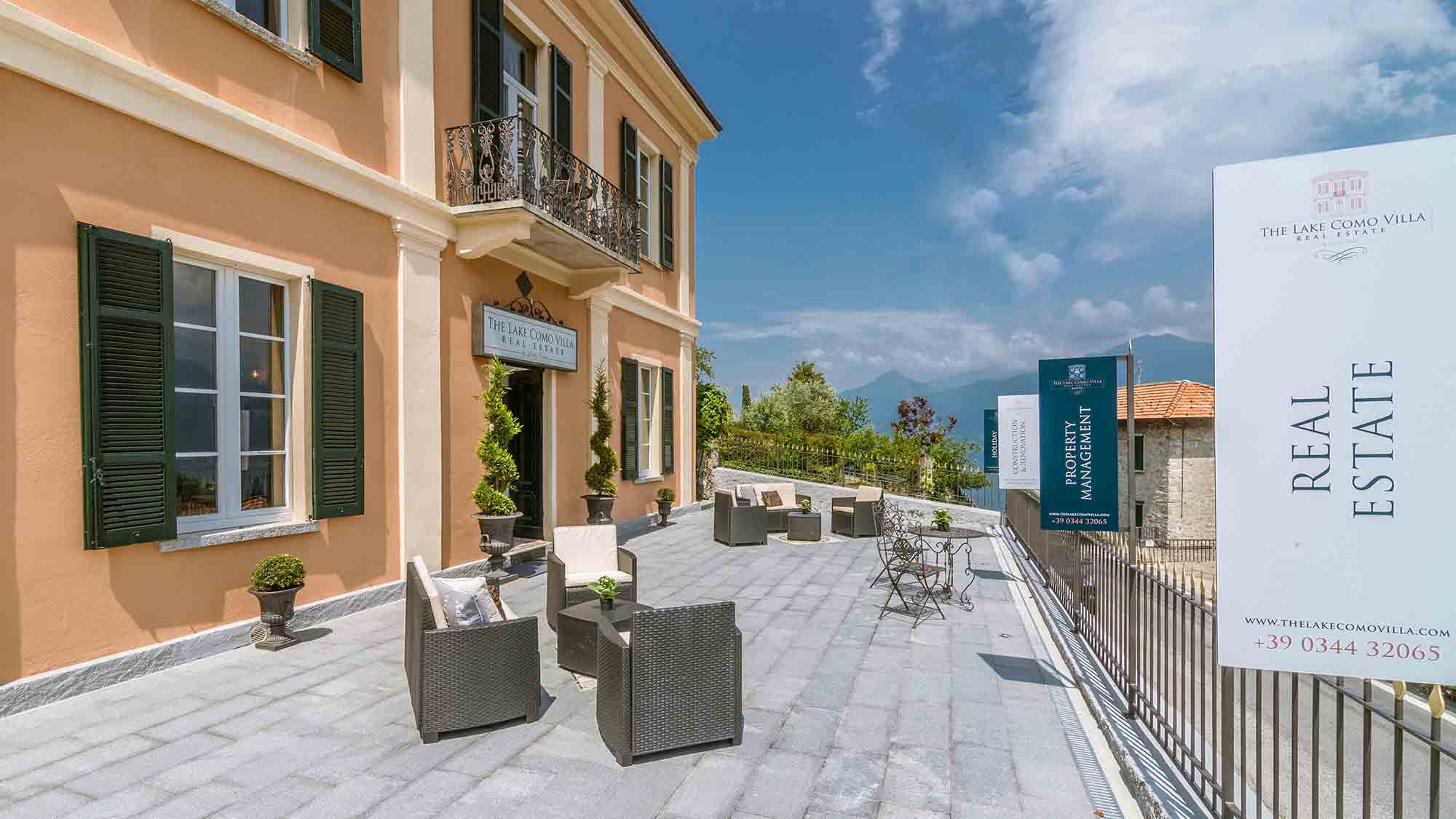 Real Estate - Lake Como Villas